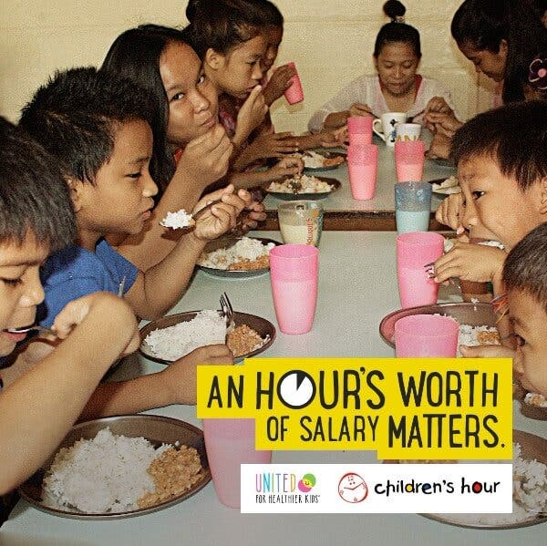 United for Healthier Kids U4HK Children's Hour Get to Know the Organization Fighting Malnutrition in Filipino Kids—and How You Can Help
