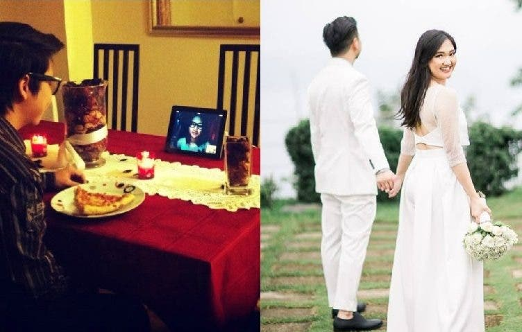 Aila and Jet This Couple in LDR for 12 Years Finally Get Married, Making Us Believe in Love Again