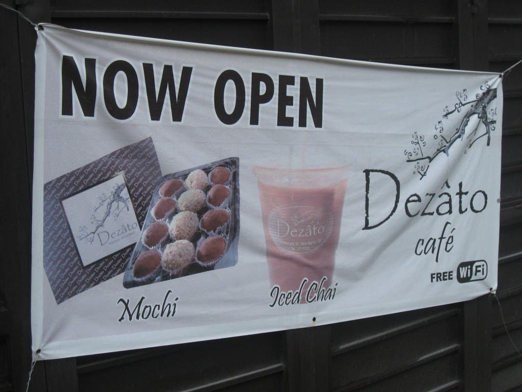 Now Open Dezato Cafe Mochi Iced Chai Philippines WhenInManila.com