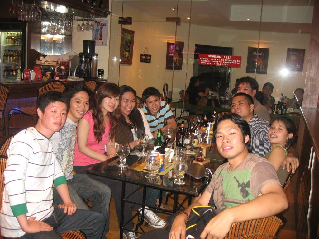 Drinking Sampling and Tasting Beer at Beers Paradise with friends WhenInManila.com