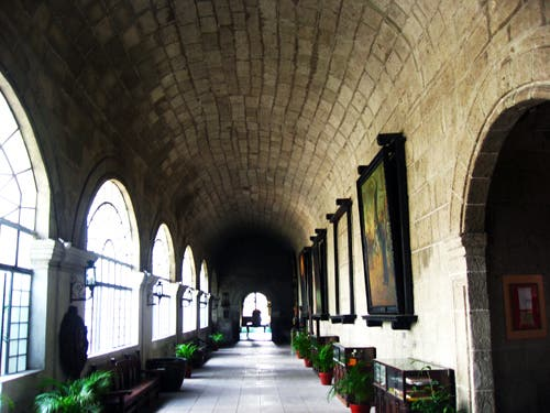 San Agustin Church Intramuros Walls Manila Philippines