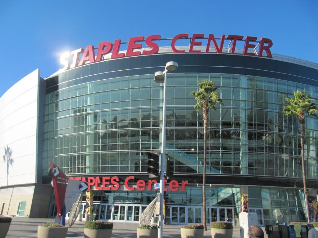 Staples Center Los Angeles California USA WhenInManila.com Filipino in the U.S.A.