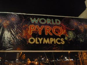 World Pyro Olympics 2009 at Fort Bonifacio High Street Manila Philippines with WhenInManila.com