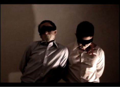 Philippine Kidnappers Kidnapped Bound Gagged Tied Up When In Manila Reporters Journalists Ransom Abduction Kidnap