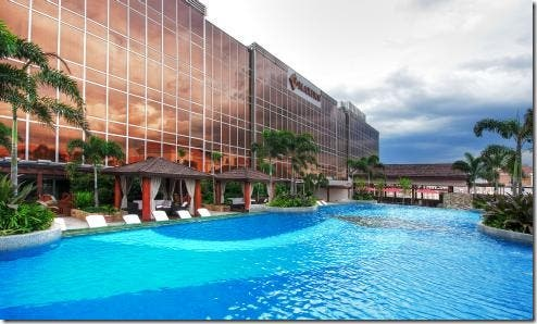The Only Six 6 Star Hotel In The Philippines Maxims Hotel At Resorts World Manila When In Manila