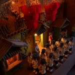 Diorama of the Church of Lucban - Closeup