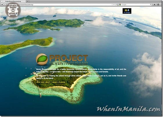 Save Palawan Seas Foundation spsf project 7000 seven thousand when in manila 8