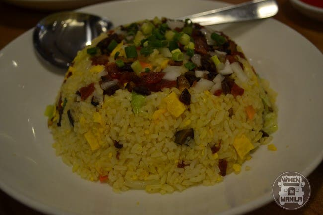 Chinese Chorizo Fried Rice
