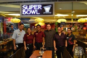 Staff of Super Bowl of China