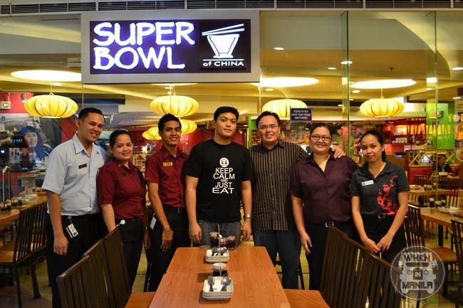 Me and the Staff of Super Bowl of China