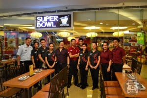 Whole Staff of Super Bowl of China