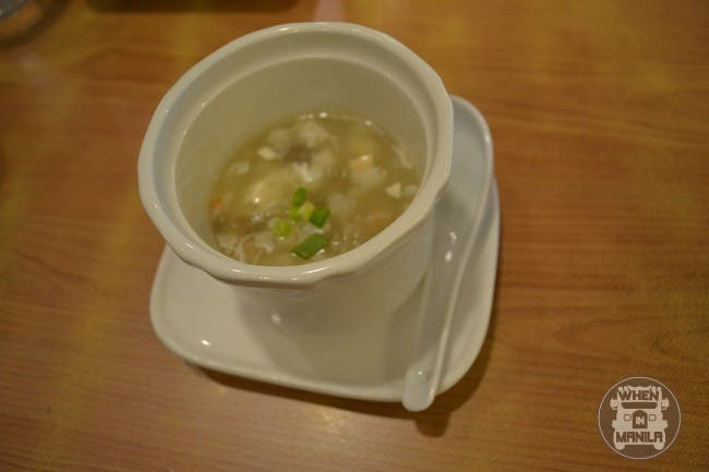 Seafood Beancurd Soup