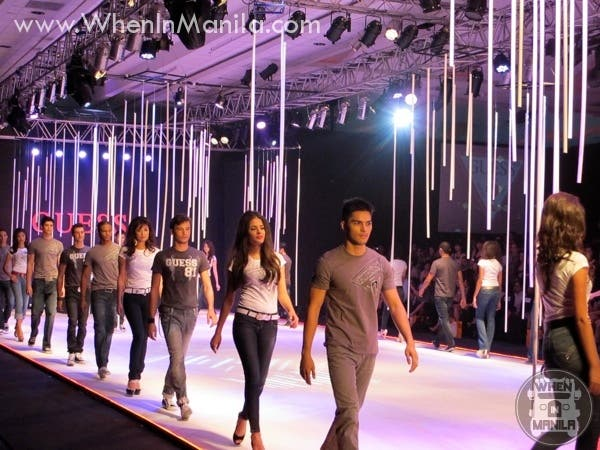 Guess Returns To Philippine Fashion Week With Celebrity Models