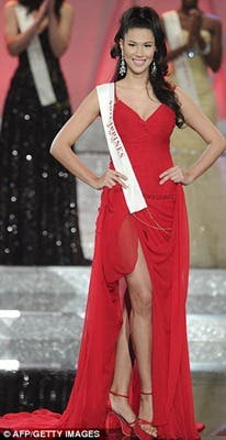 Congratulations to Miss Philippines Gwendoline Ruais for ...