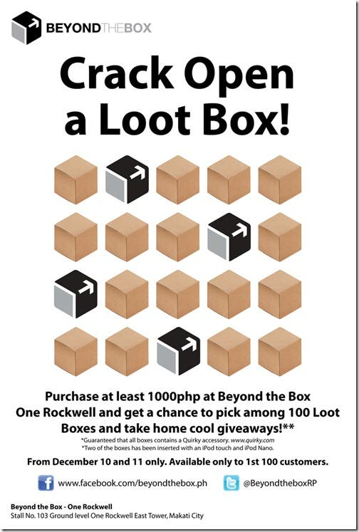 Crack Open A Loot Box At Beyond The Box One Rockwell