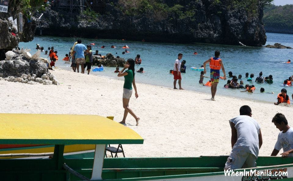 Quezon Island is just one of the best places to take a rest from all that island-hopping