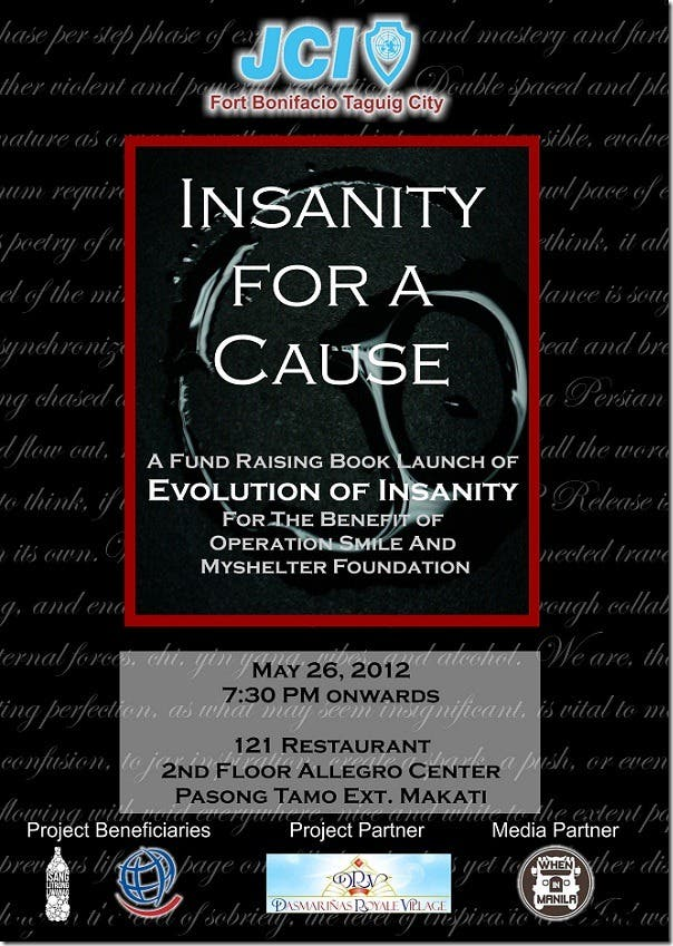 insanity for a cause press release cover updated