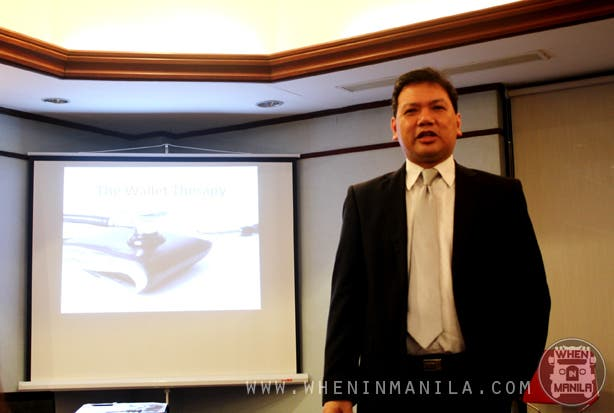 wallet therapy and stock trading seminar speaker boom san agustin