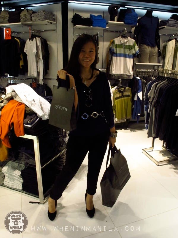 Frankie shopaholic happiness oxygen clothing trinoma branch