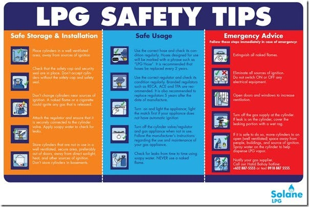 Sinage - SAFETY TIPS