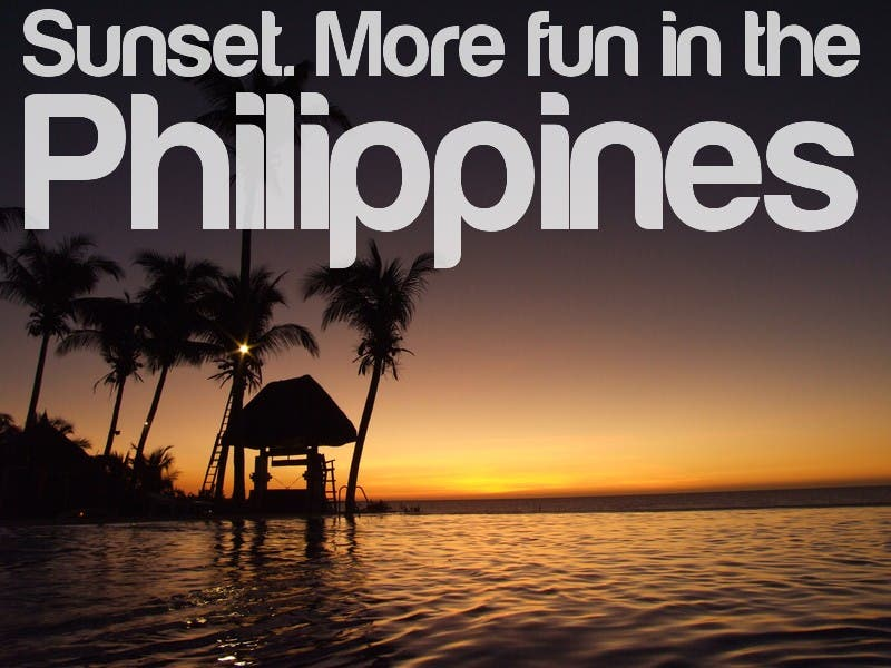 sunset more fun in the philippines