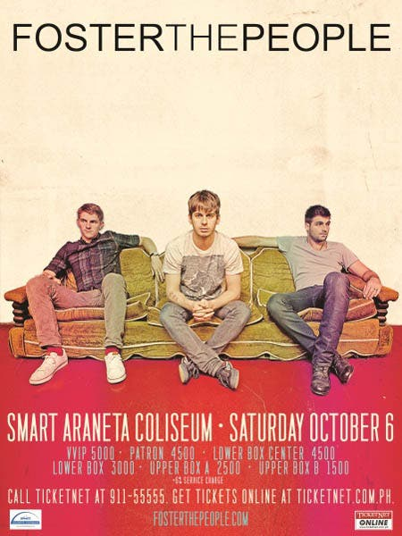 Foster the People Manila