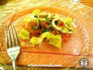 An intimate lunch with chef anna olson when in manila asian food channel chilled grilled seafood salad forumfinder Gallery