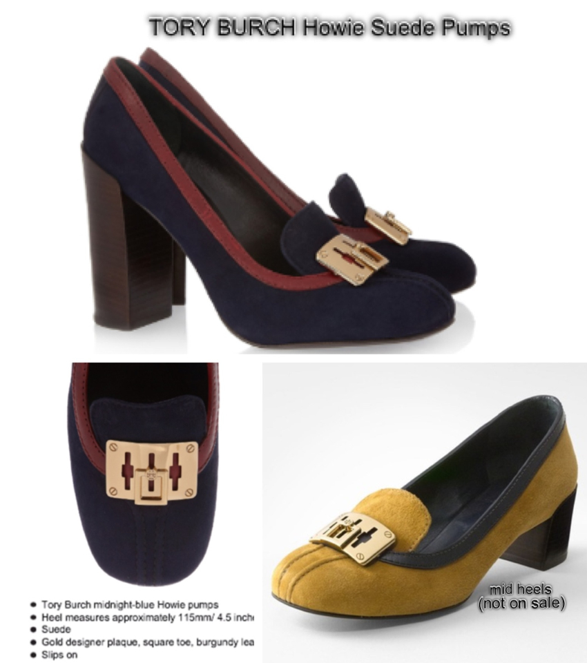 Branded items such as Tory Burch ...