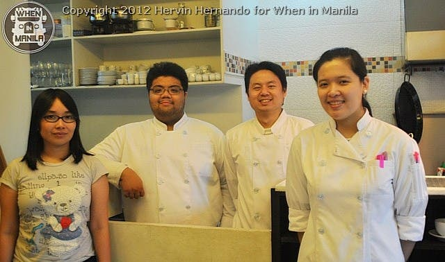 Bistro 98 Chefs Photo by Hervin Hernando