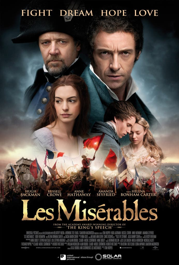 Les Miserables One Sheet