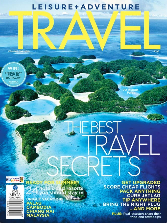 TRAVEL magazine_ Feb. 2013 cover