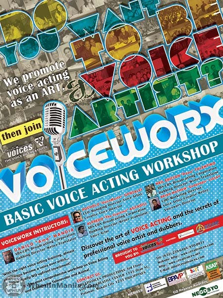 Voiceworx Poster for WIM