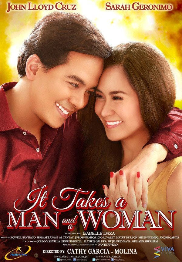 It Takes A Man and A Woman movie poster