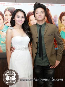 KathNiel during the movie premiere