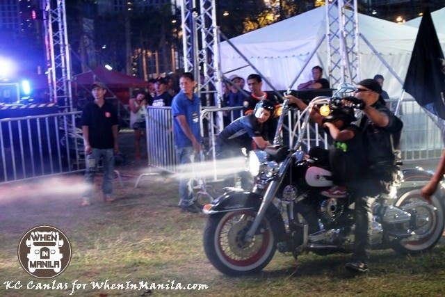 Kid Hitched on a Harley