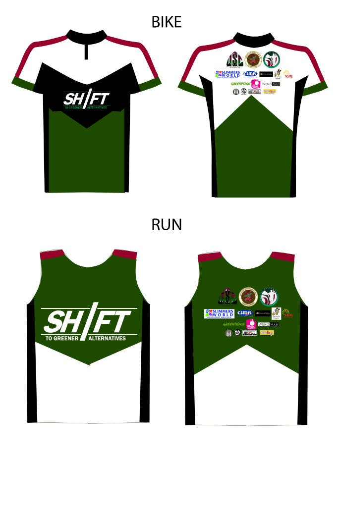 SHIFT SINGLET JERSEY DESIGN