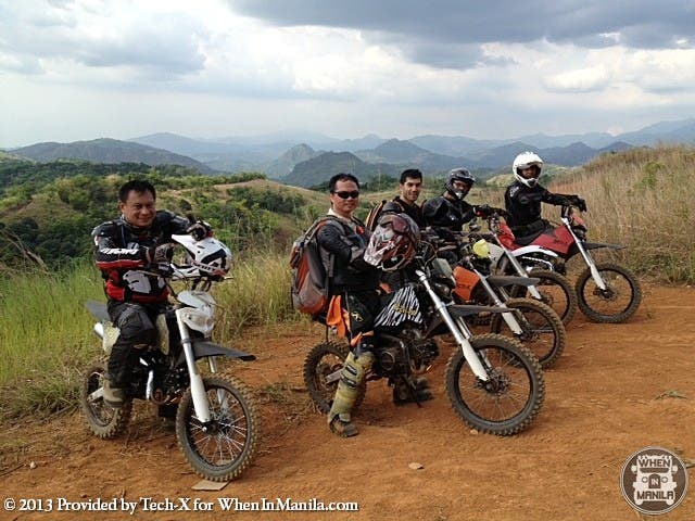 Tech-X Bikes Overlooking Sierra Madre Mountains