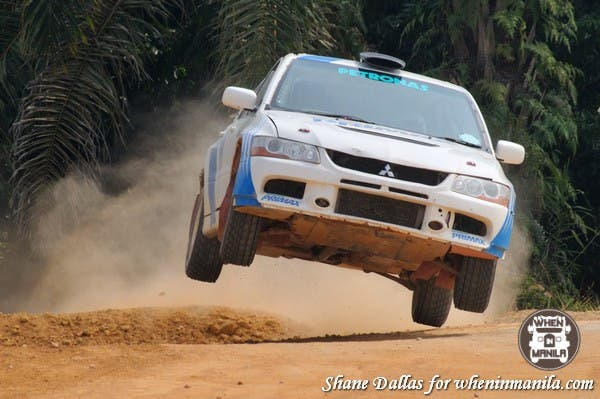 Free rally rides at the Malaysia Grand Prix were popular.