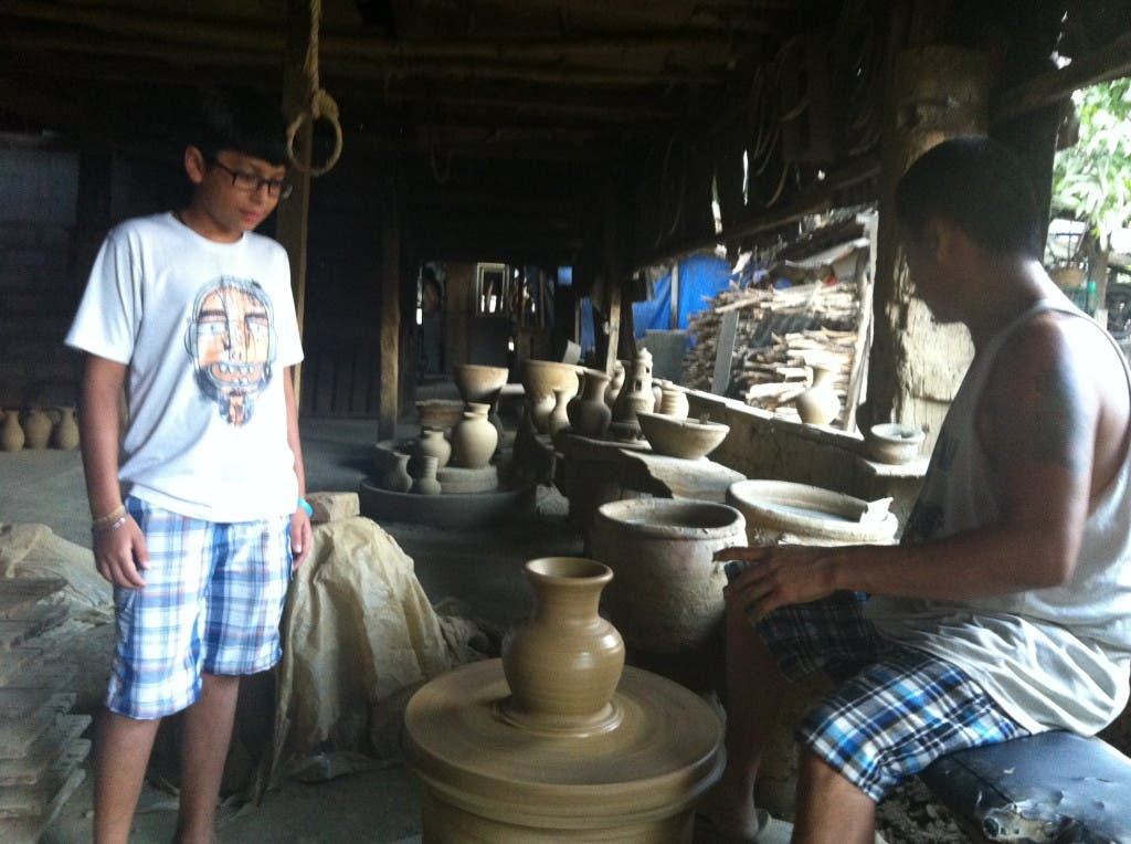 POTTERY in VIGAN CITY