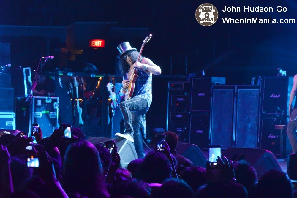 Slash Live in Manila 3
