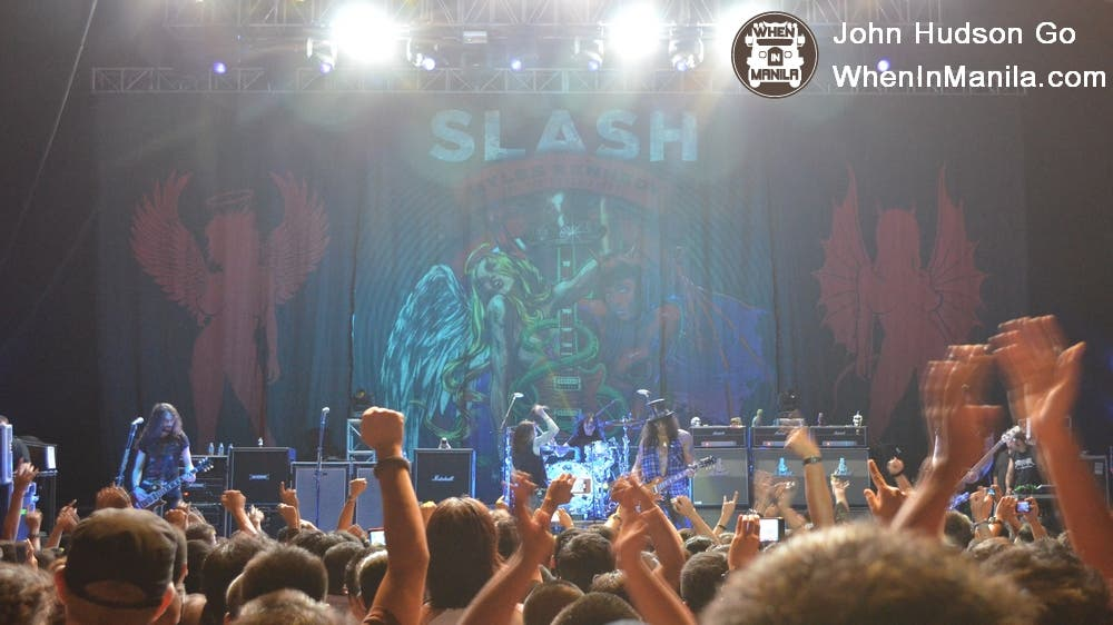 Slash Live in Manila 4