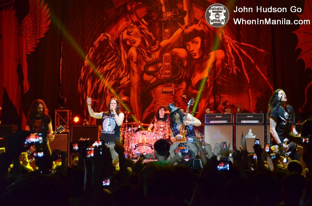 Slash Live in Manila 7