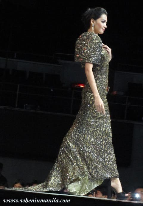 Binibining Pilipinas 2013: Fashion Show at the Smart Araneta