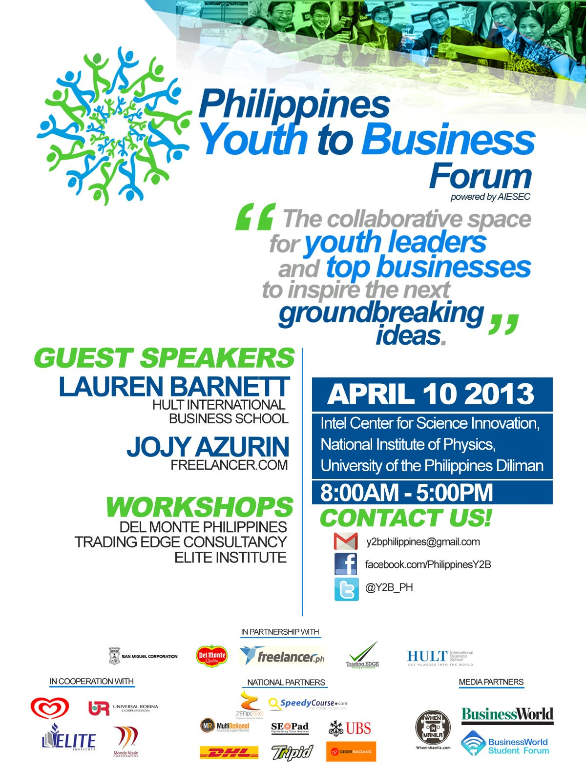Y2B POSTER