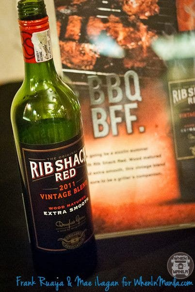 Rib Shack Red 2011 (Pinotage and Shiraz) Php 517 (75 cl)