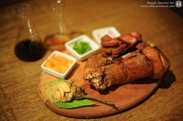 Crispy Pata: Not on the menu but available upon request