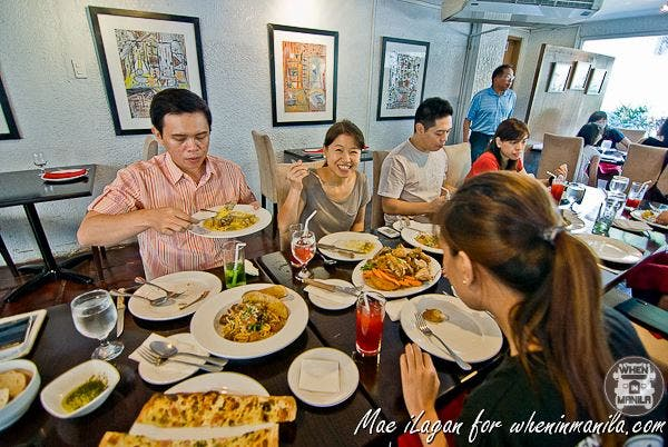 Sunday lunch with WIM Family at Oasis Paco Park Hotel's My Kitchen by Chef Chris.