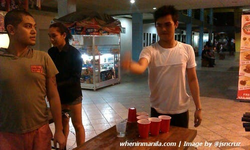 Plato College Party Place jsncruz - beer pong kelvin orellana