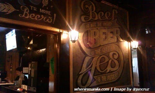 Plato College Party Place jsncruz - beer sign