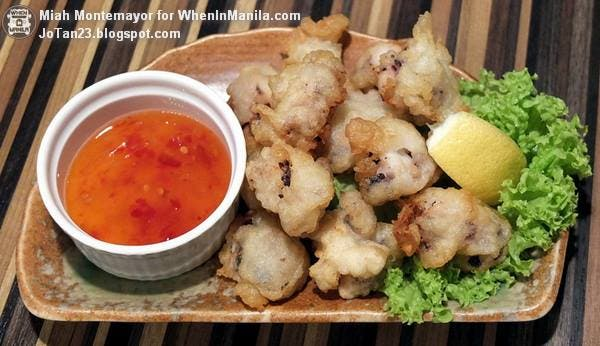 Fried Octopus Php 245.00